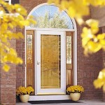 New Glass Storm Door