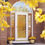 New Glass Storm Door