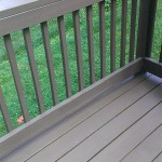 Deck boards replaced and painted to match existing in Metuchen, NJ.