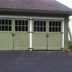The newly installed historic carriage house doors in Metuchen, NJ will stand for another 100 years!