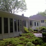 After installation of new Prodigy siding.