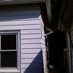 Before siding project began.