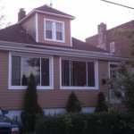 After new Alside siding and windows installed.