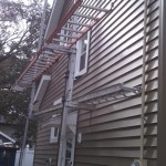 New siding installed.