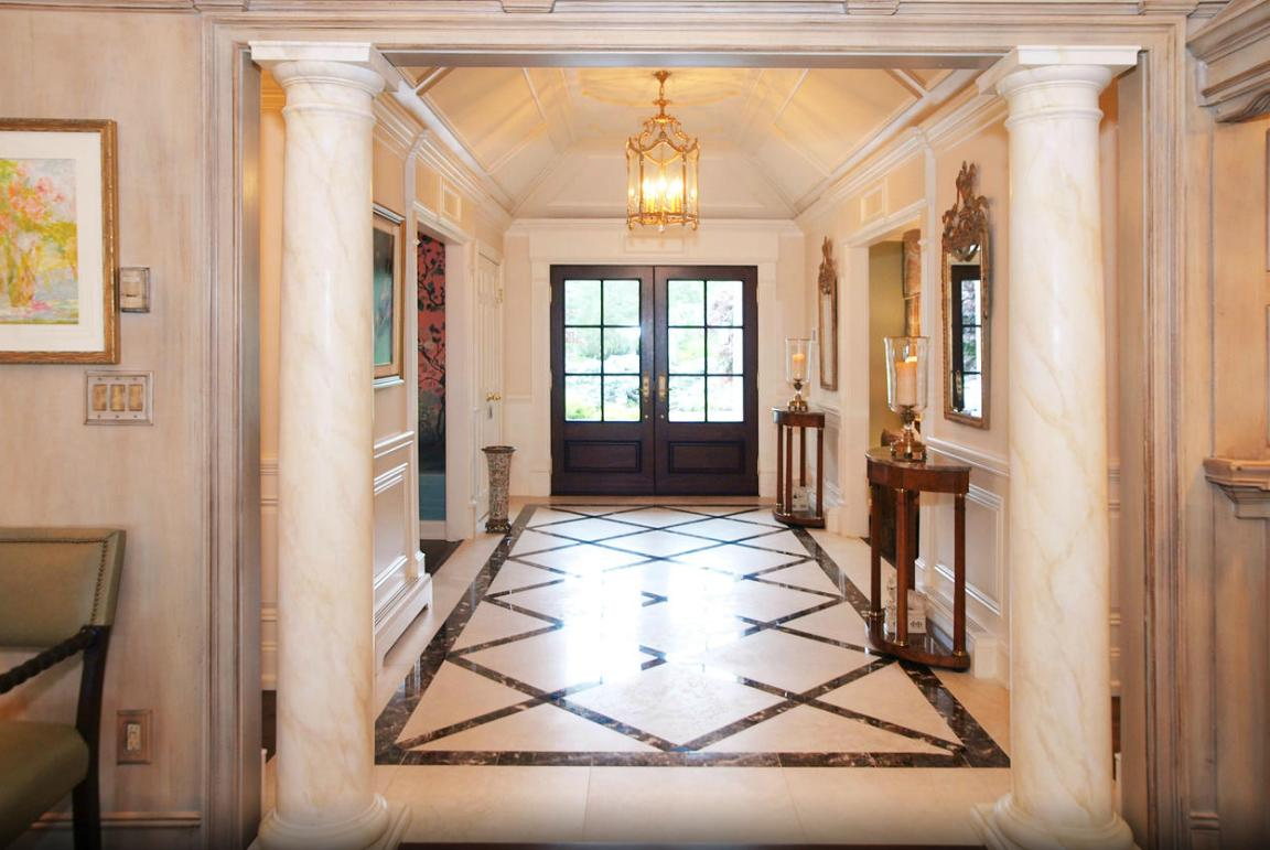 Foyer Flooring Nj : Amazing franklin lakes nj home addition and renovation