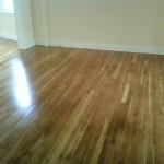 Walls painted and flooring sanded and refinished in Maplewood, NJ.