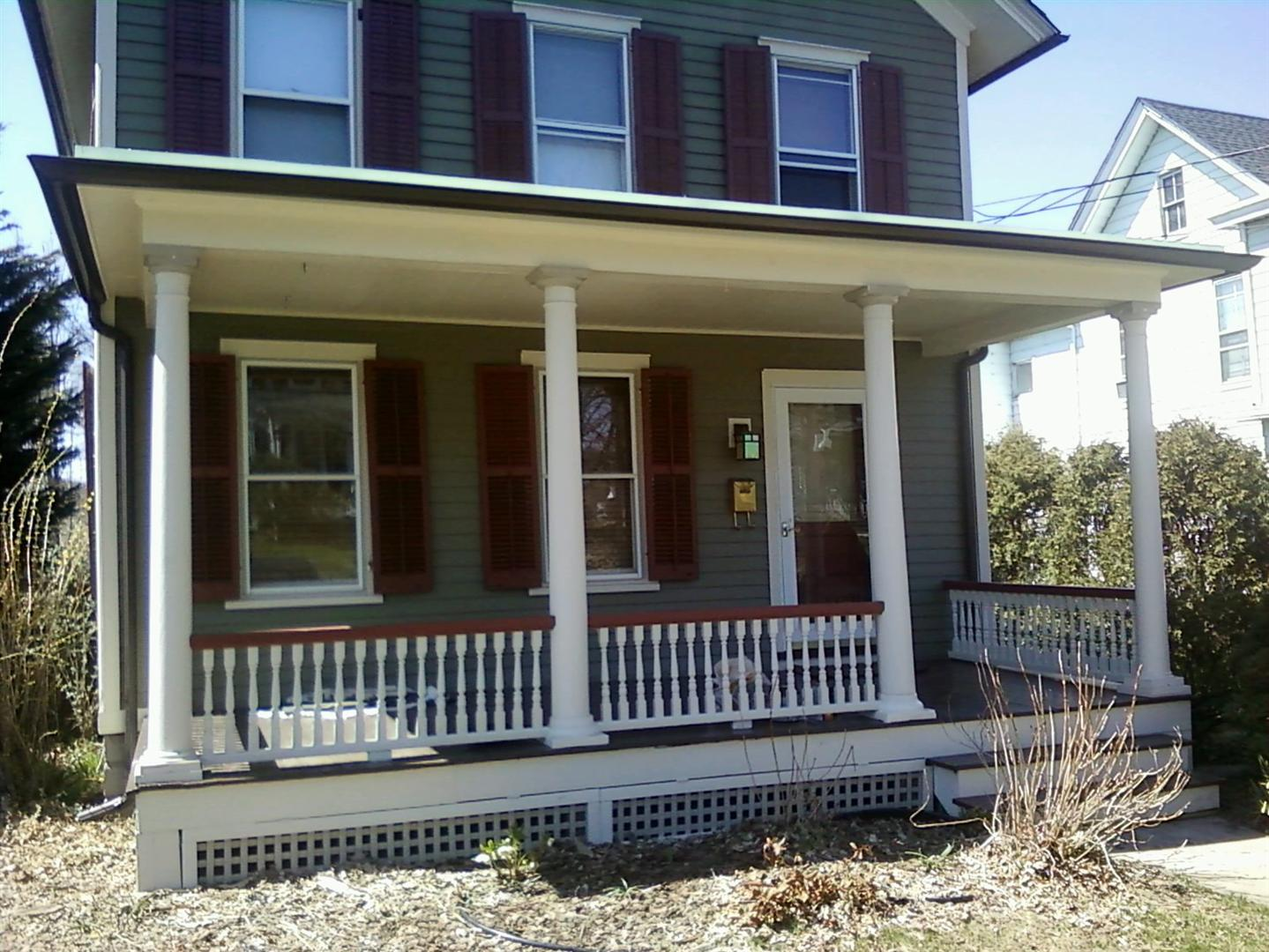 Flemington Nj Historic Home Porch Repairs M Amp M