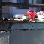After porch restoration in Hewitt, NJ