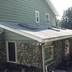 Before...existing three tab roof in Hawthorne, NJ.