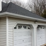 Newly completed GAF shingles installed.