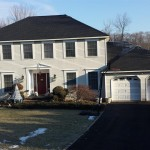 The new GAF architectural shingle roof installed.