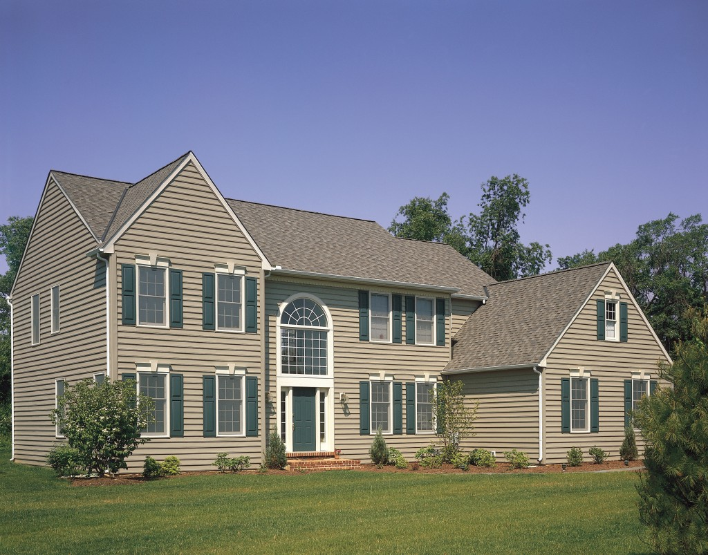vinyl siding, vinyl windows, GAF roofing