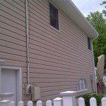 After installing Alside Prodigy vinyl siding in Cranford, NJ.