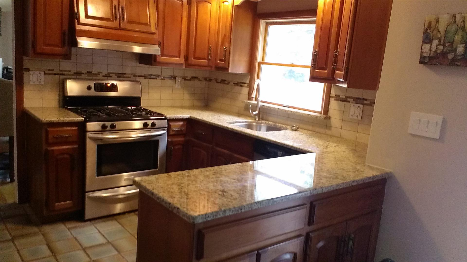Renovated Kitchen Best Mountainside Nj Granite Kitchen Countertop Installation