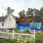 Removal of the shingles and cedar shakes in Spotswood, NJ.