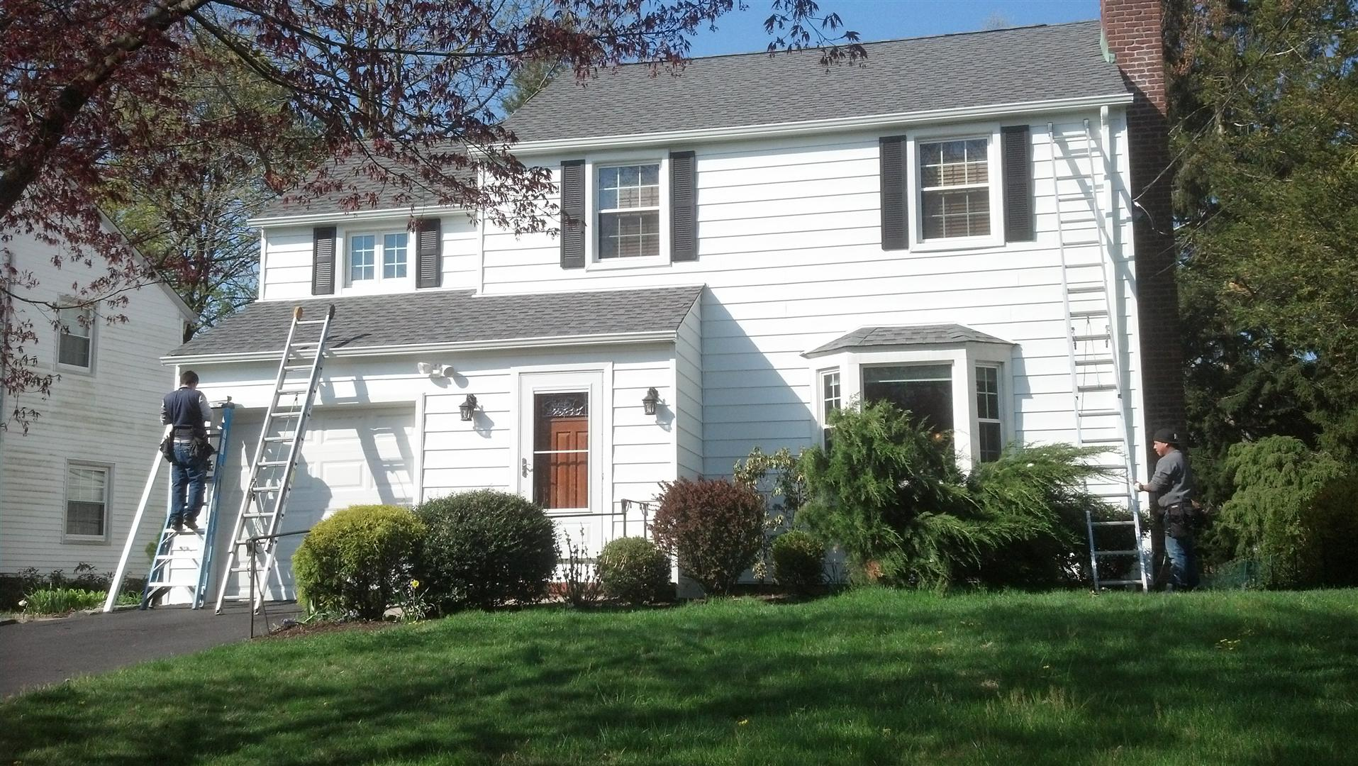 How to remove aluminum siding - Seamless Aluminum Gutters And Aluminum Siding Installation Completed In Springfield Nj