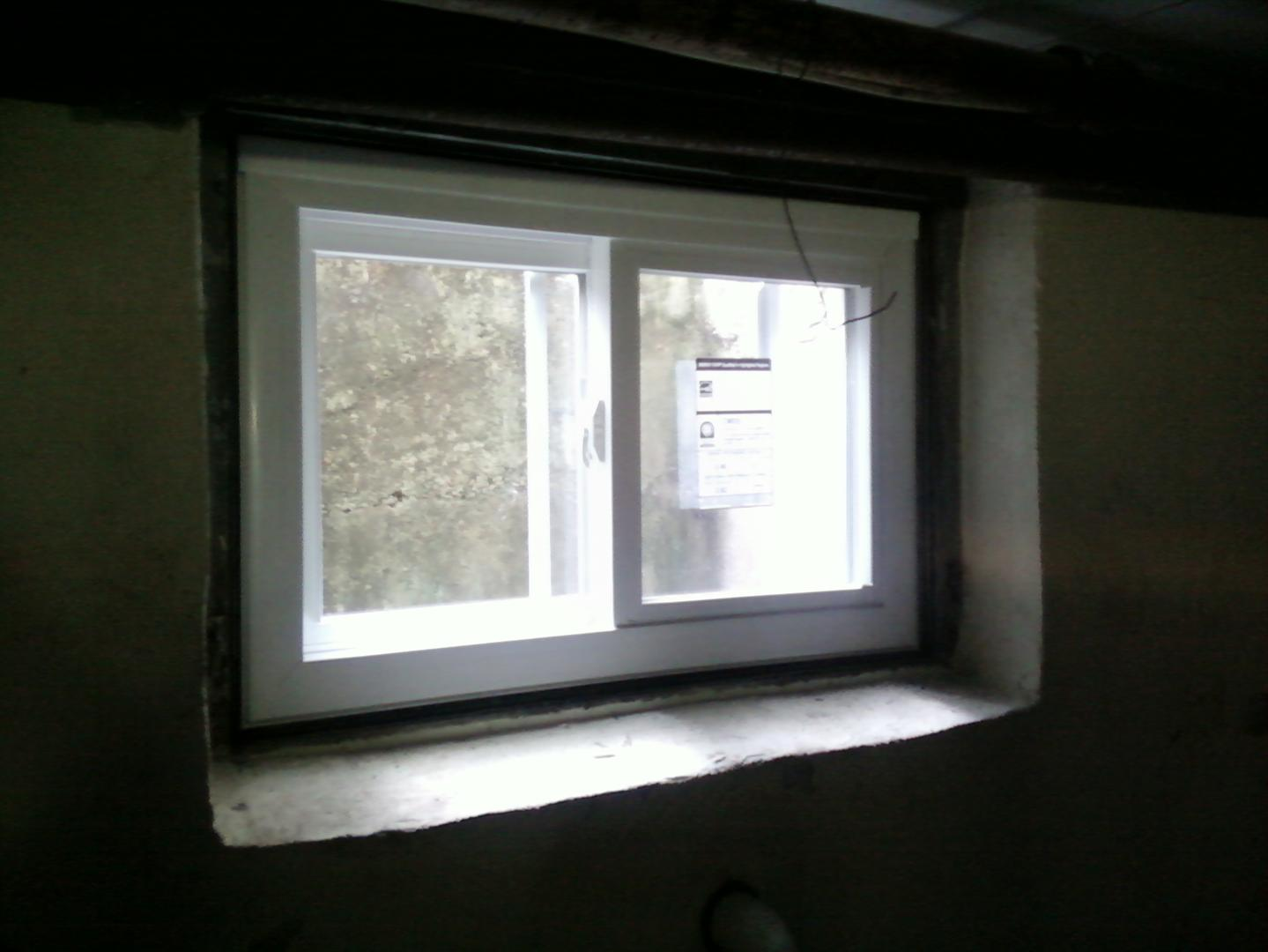 Top basement window installation near union nj m m for Basement windows
