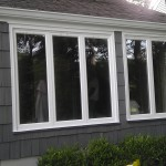 Completed installed windows in Cranford, NJ.