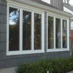 After new windows were installed in Cranford, NJ.