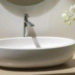 Newly Installed Bathroom Sink