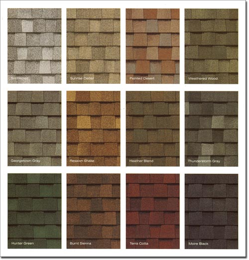 New Jersey Shingle Roof Color Choices M Amp M Construction