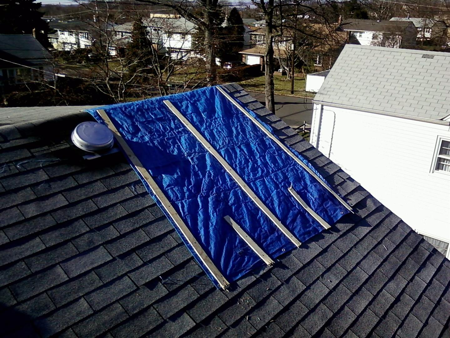 Union Nj Emergency Tarping M Amp M Construction Roofing
