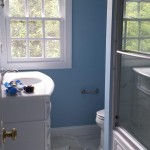 The completed bathroom in Parsippany, NJ.