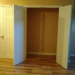 New closet and doors in Chatham, NJ.