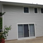 Newly installed insulated siding in Roseland, NJ.