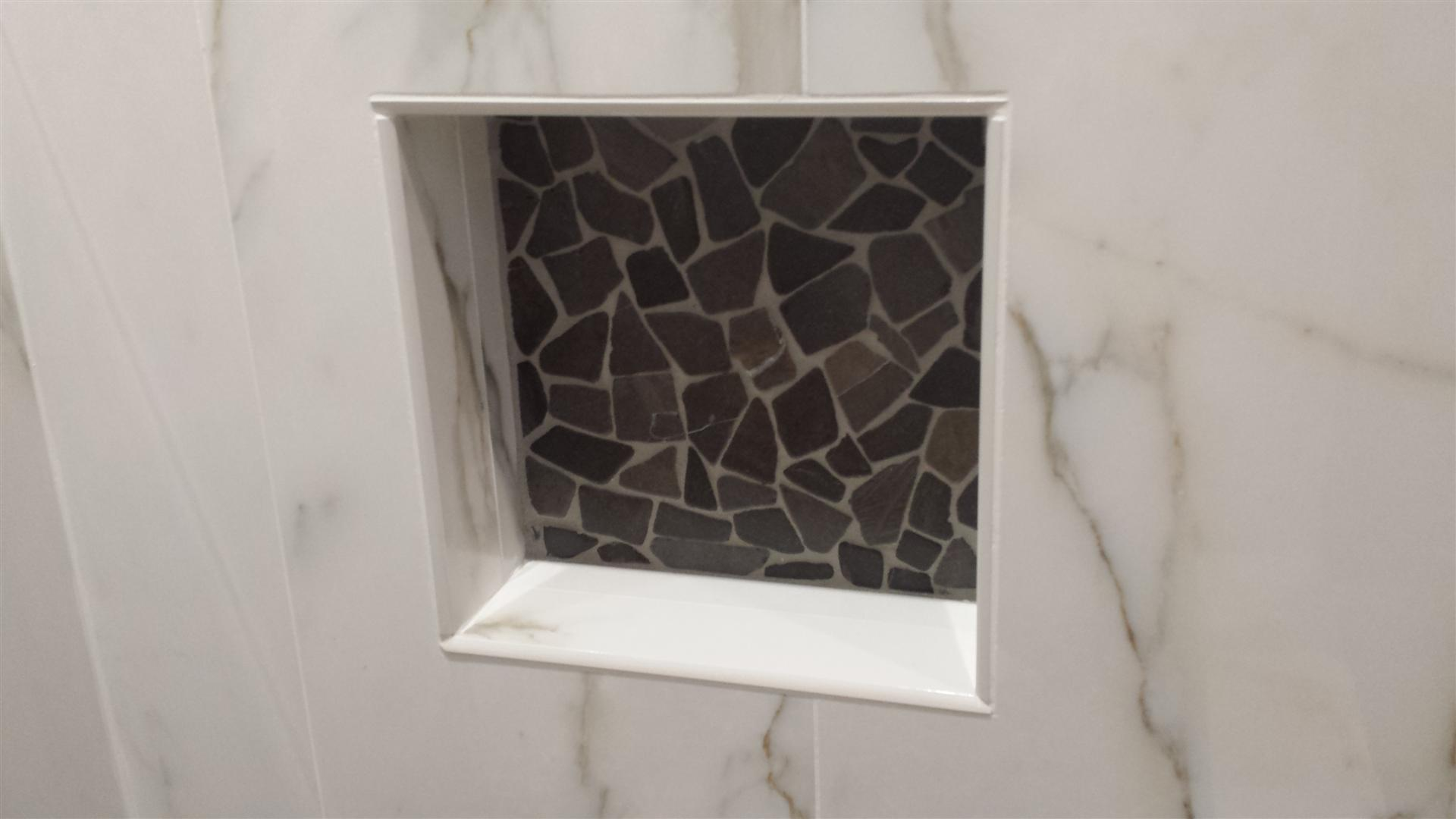 Affordable millburn nj bathroom renovations m m for Niche siding